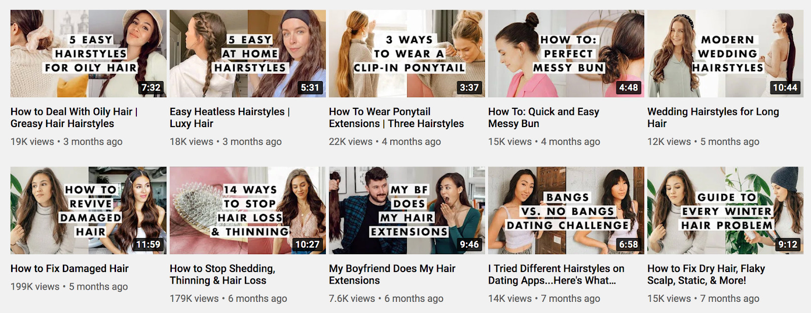 Luxy Hair YouTube 1