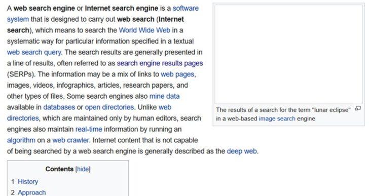 Core Web Vitals et autres facteurs de classement pour 2021 - Wikipédia